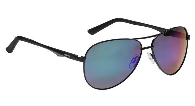 Alpina Sonnenbrille Polarisation 107 P - black matt