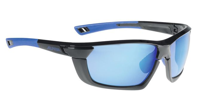 Alpina Sportbrille Tri-Scray MF - black blue