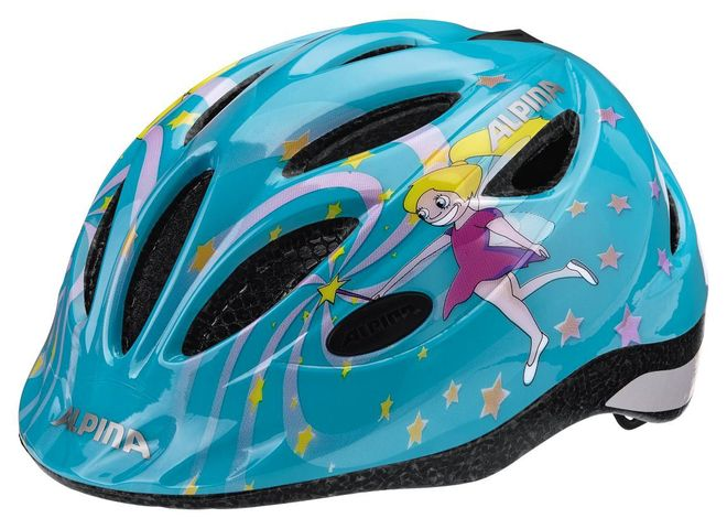 Alpina Gamma 2.0 Kinder Fahrradhelm - blue ice princess