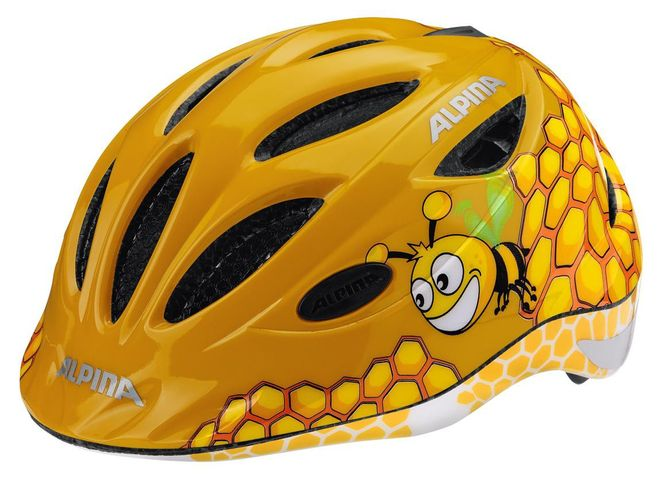 Alpina Gamma 2.0 Flash Kinder Fahrradhelm - honey bee
