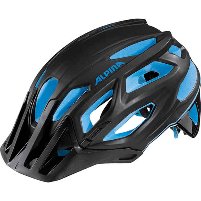 Alpina Garbanzo Fahrradhelm - black blue