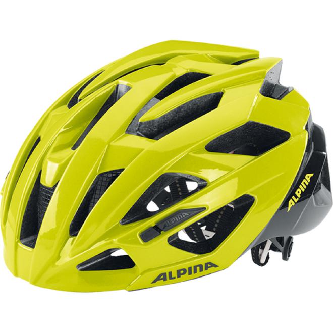 Alpina Valparola RC Fahrradhelm - be visible