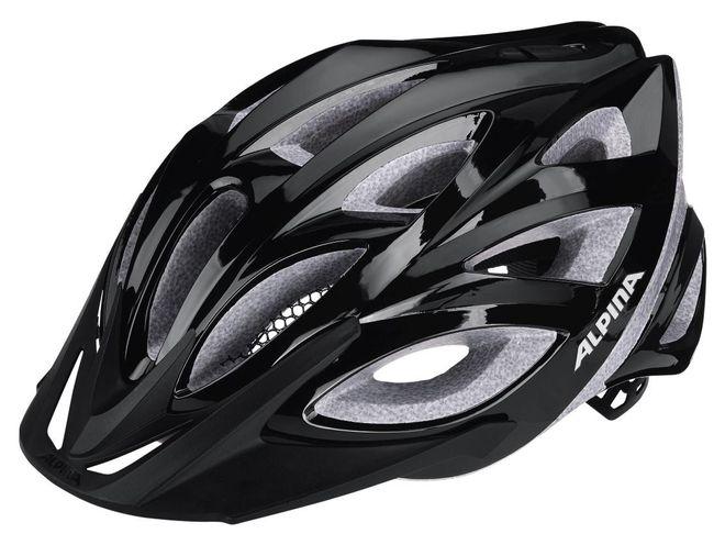 Alpina Seheos Fahrradhelm - black