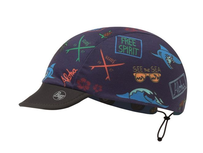 Buff Reversible Child Cap Pro - surf traveller blue – Bild 2