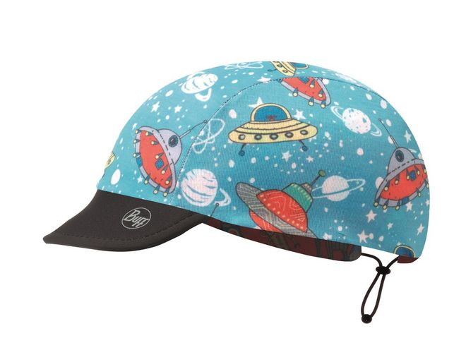 Buff Reversible Baby Cap Pro - space robots blue – Bild 2