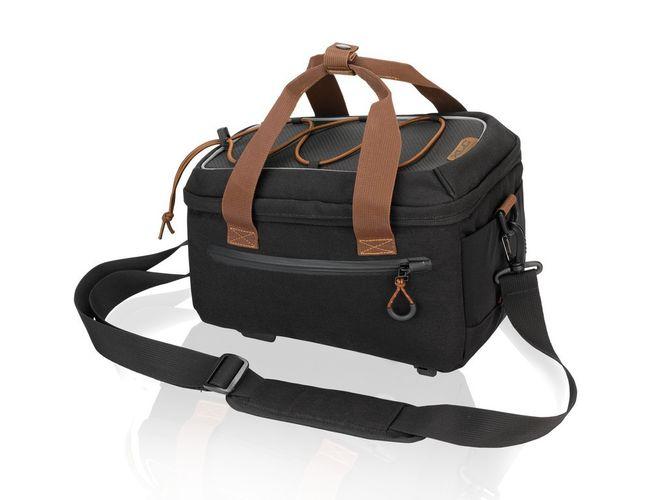 XLC Gepäckträgertasche BA-W30 - schwarz/braun