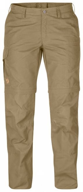 Fjällräven Karla Zip-Off Trousers Damen Outdoorhose - Sand – Bild 1
