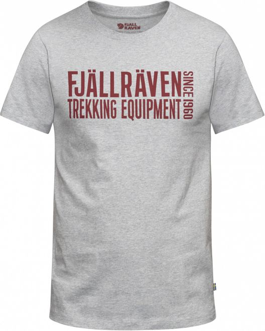 Fjällräven Equipment Block T-Shirt Herren - Grey