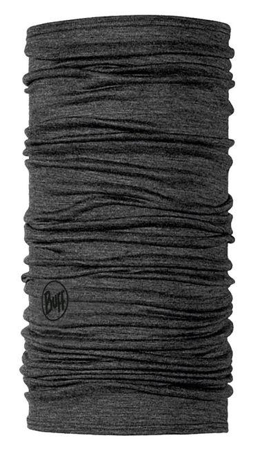 Buff Lightweight Merino Wool Schlauchtuch - solid grey