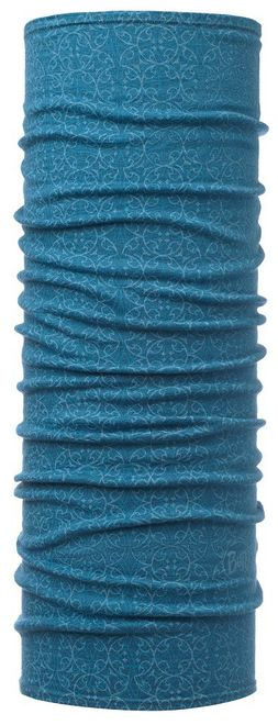 Buff Lightweight Merino Wool Schlauchtuch - gloow lake blue
