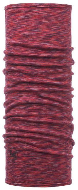 Buff Slim Fit Lightweight Merino Wool Schlauchtuch - pink multi