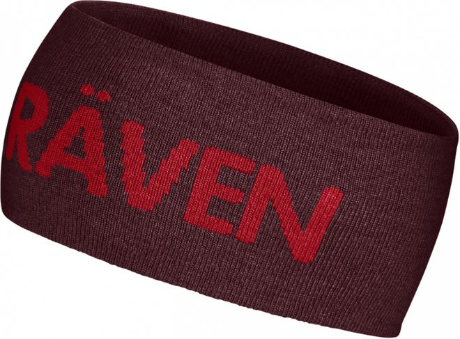 Fjällräven Logo Head Band Stirnband - Dark Garnet