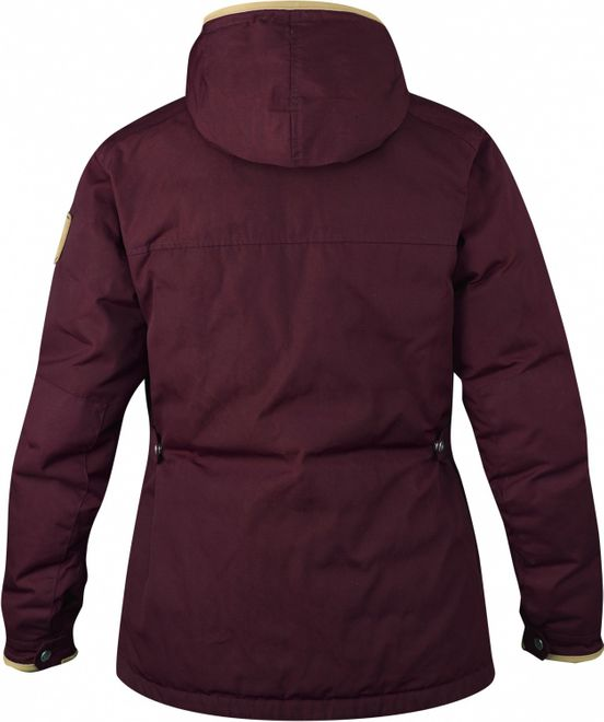 Fjällräven Greenland No. 1 Down Jacket Damen - Dark Garnet – Bild 2
