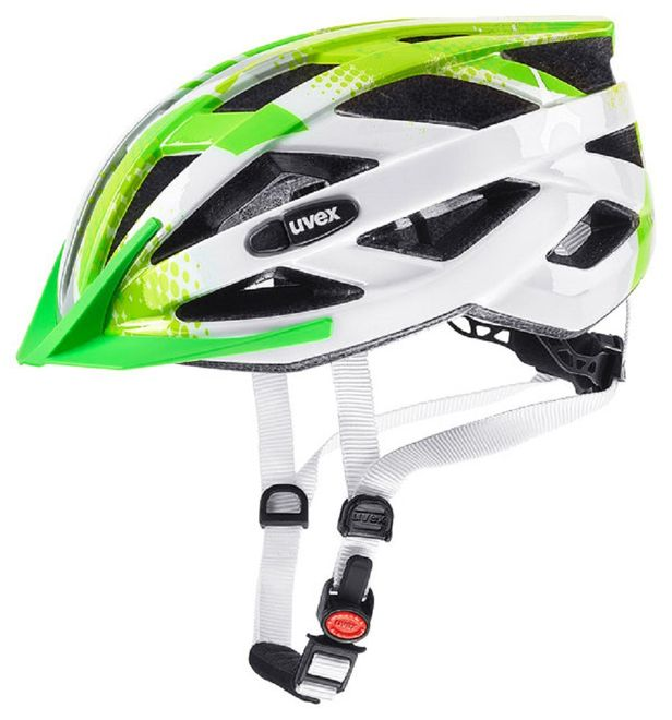 Uvex Air Wing Junior-Fahrradhelm - lime white