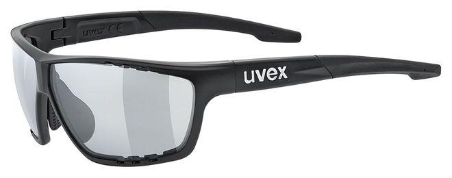 Uvex Sportstyle 706 vario Radsportbrille - black-mat