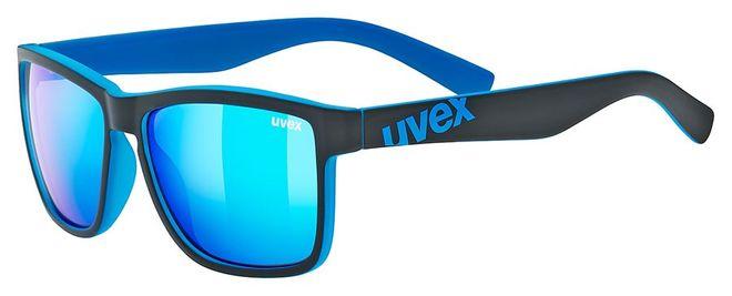 Uvex lgl 39 Sonnenbrille - black mat blue