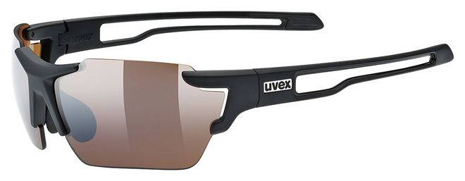 Uvex 803 colorvision Sportbrille small - black mat