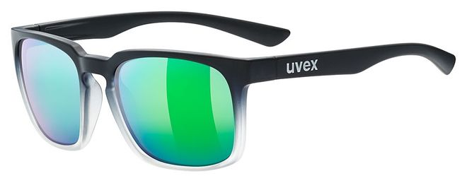 Uvex Sportstyle lgl 35 colorvision Sportbrille - black mat clear
