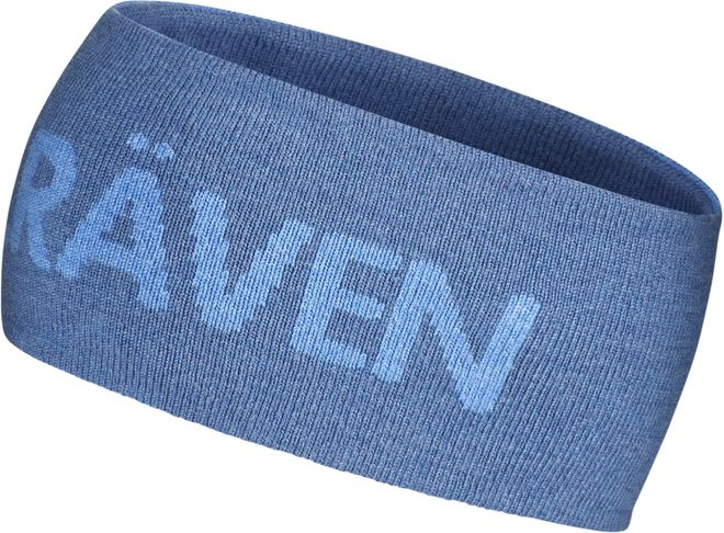 Fjällräven Logo Head Band Stirnband - Uncle Blue/UN Blue – Bild 1