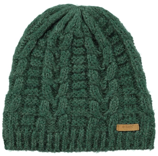 Barts Anemone Beanie Damen Strickmütze - bottle green – Bild 3