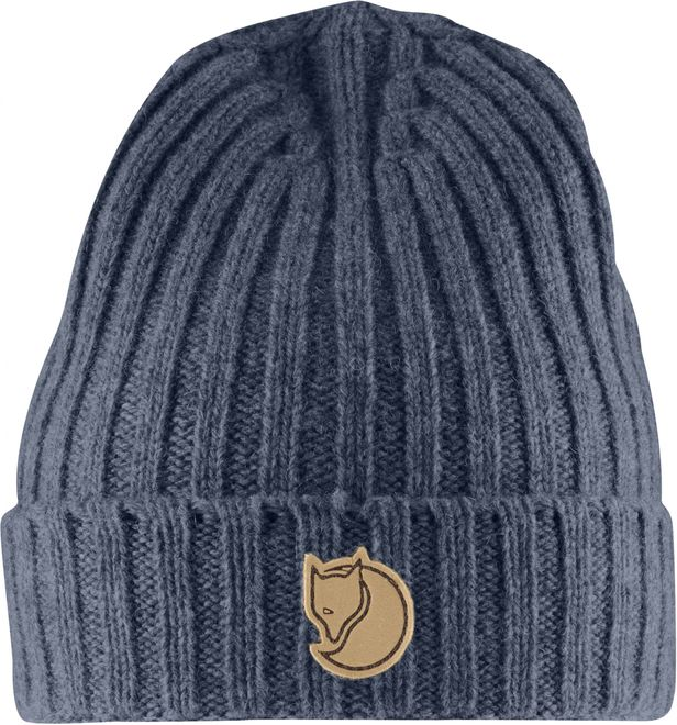 Fjällräven Re Wool Hat Strickmütze - Dark Navy
