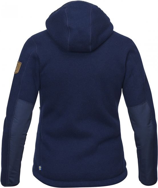 Fjällräven Polar Expedition Fleece Damen Kapuzenpullove - Navy – Bild 2