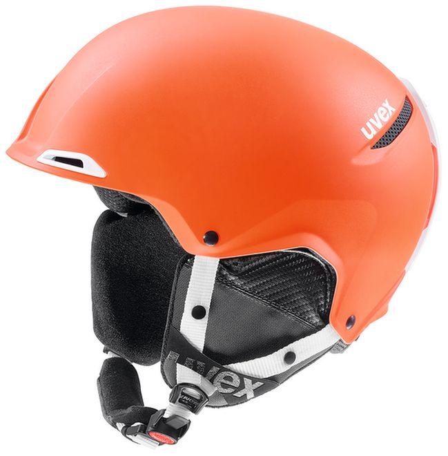 Uvex JAKK+ Skihelm - orange-white mat