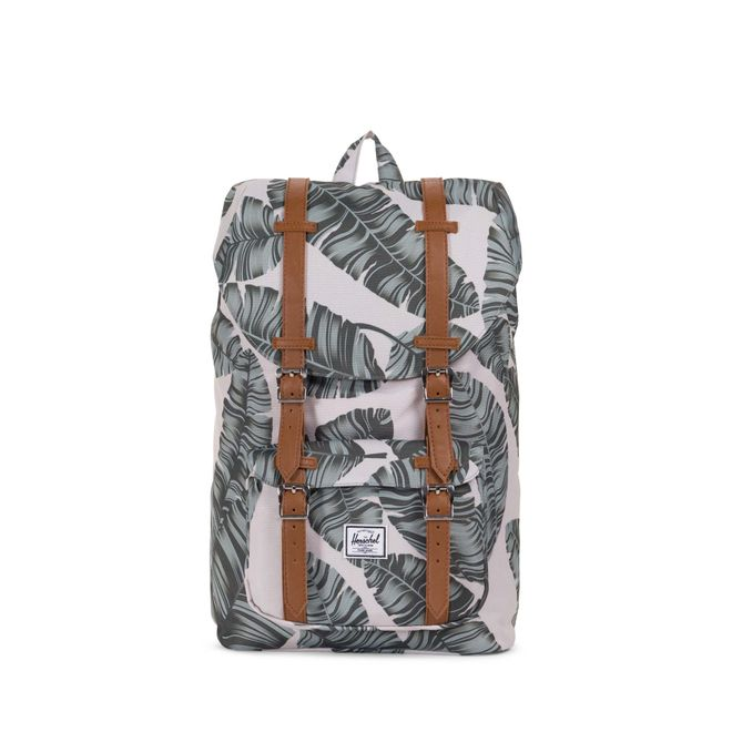 Herschel Little America Mid-Volume Rucksack - Silver Birch Palm – Bild 2