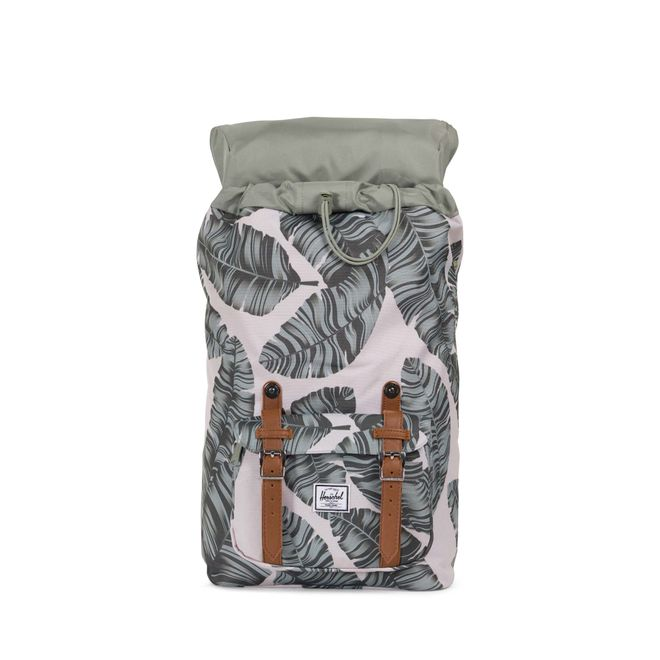Herschel Little America Mid-Volume Rucksack - Silver Birch Palm – Bild 3