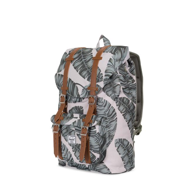 Herschel Little America Mid-Volume Rucksack - Silver Birch Palm – Bild 1