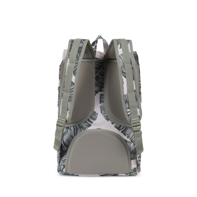 Herschel Little America Mid-Volume Rucksack - Silver Birch Palm – Bild 4