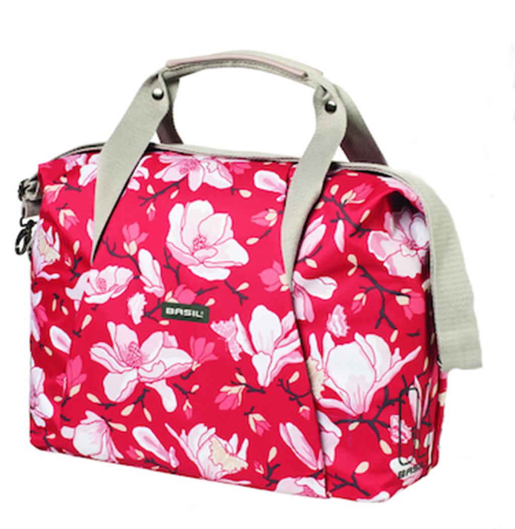 basil fahrrad schultertasche magnolia carry all bag poppy red sport radsport fahrradtaschen. Black Bedroom Furniture Sets. Home Design Ideas
