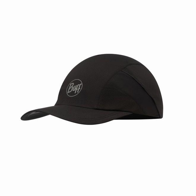 Buff Pro Run Cap Reflectiv - solid black