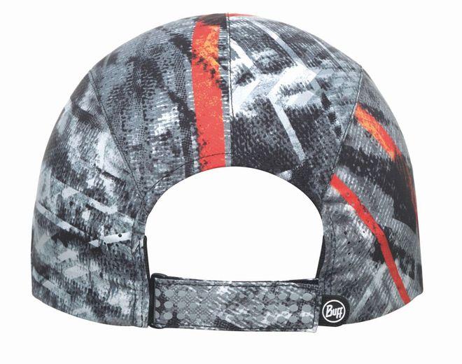 Buff Pro Run Cap Reflectiv - city jungle grey – Bild 3