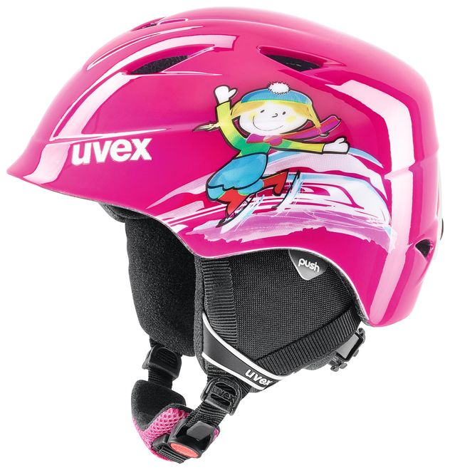 Uvex airwing 2 Junior Skihelm - pink