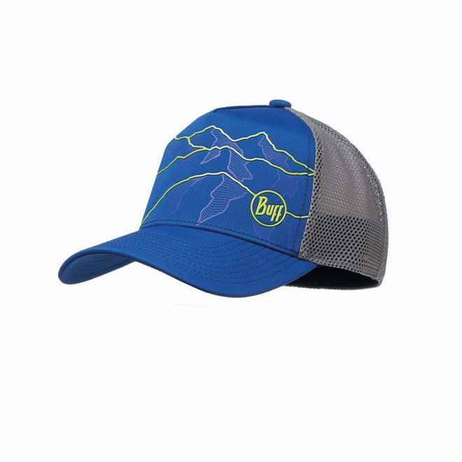 Buff Trucker Tech Cap - solid cape blue