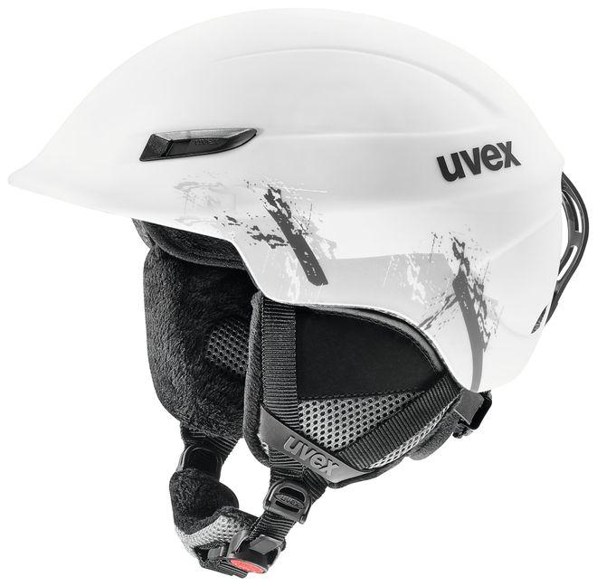 Uvex Gamma Skihelm - white mat