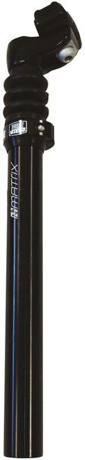 MATRIX Fahrrad Federsattelstütze SP21 27,2 mm schwarz