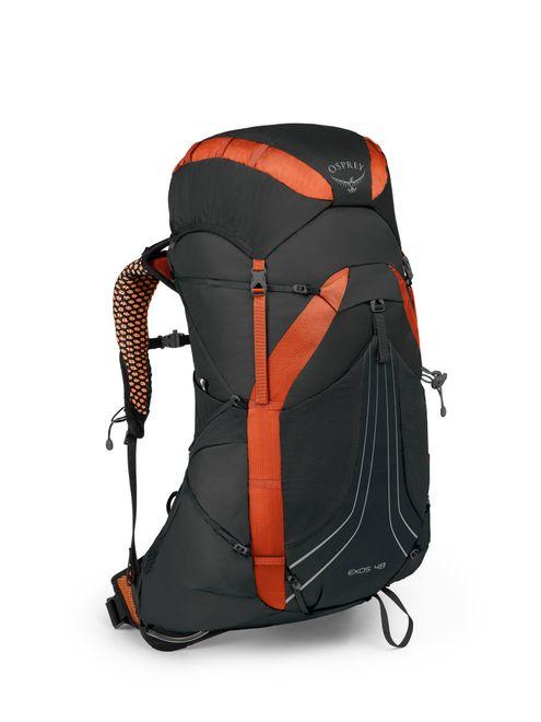 Osprey Trekkingrucksack Exos 48 Small - Blaze Black – Bild 2