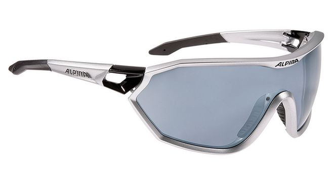 Alpina S-WAY CM+ Sportbrille - silver matt-black