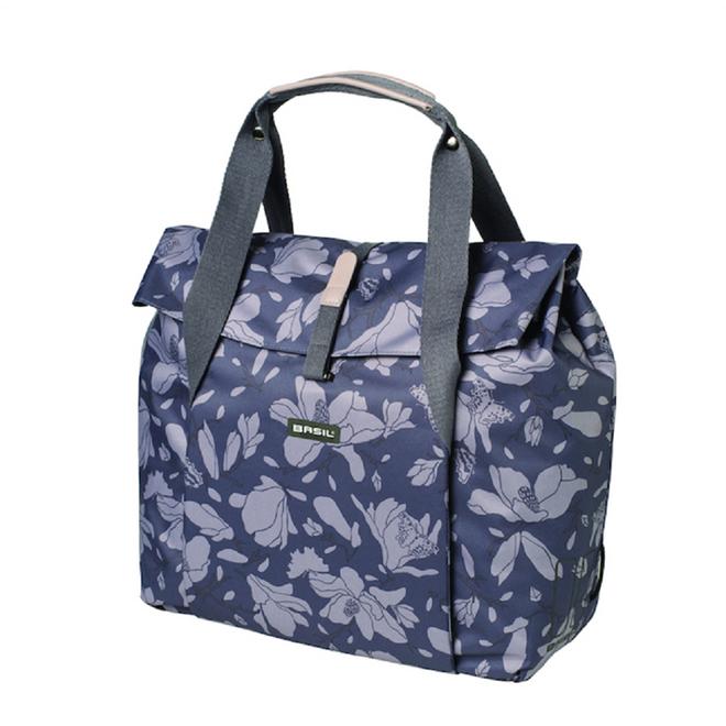 Basil Fahrrad Shopper-Tasche Magnolia - blackberry