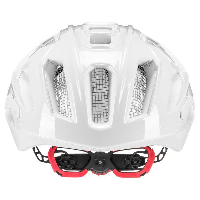 Uvex quatro xc Fahrrad MTB Race Cross Helm - white – Bild 4