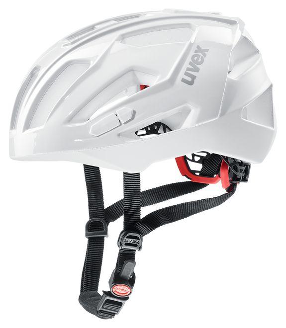 Uvex quatro xc Fahrrad MTB Race Cross Helm - white – Bild 1