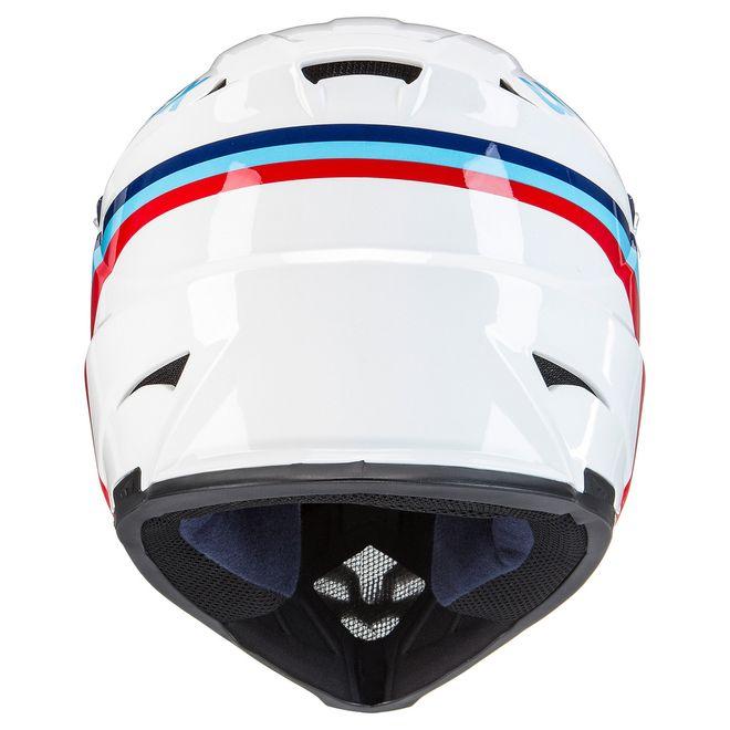 Uvex hlmt 10 bike Fahrrad Helm - white blue – Bild 4