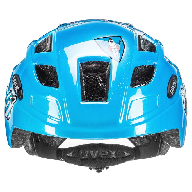 Uvex finale junior LED Fahrrad Helm - space rocket – Bild 4