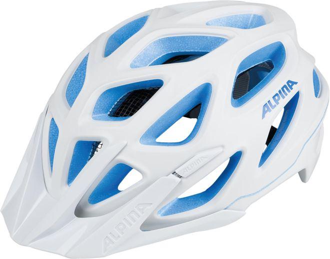 Alpina Fahrrad Helm MYTHOS 3.0 L.E.  - white blue