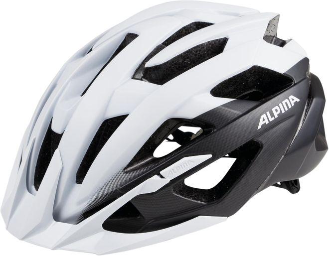 Alpina Fahrrad Helm Valparola XC - white black