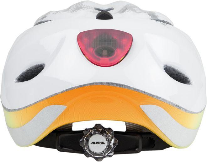Alpina Fahrrad Helm Kinder Gamma 2.0 Flash - white rainbow – Bild 2