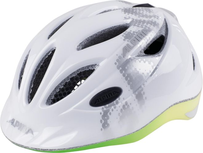Alpina Fahrrad Helm Kinder Gamma 2.0 Flash - white rainbow – Bild 3