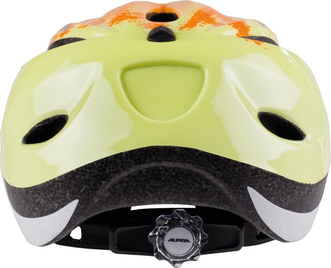 Alpina Fahrrad Helm Kinder Gamma 2.0 - orange yellow – Bild 2